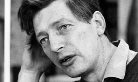 Peter Dickinson in 1971. 'My purpose in writing a children's book is to tell a story and everything is secondary to that,' he said.