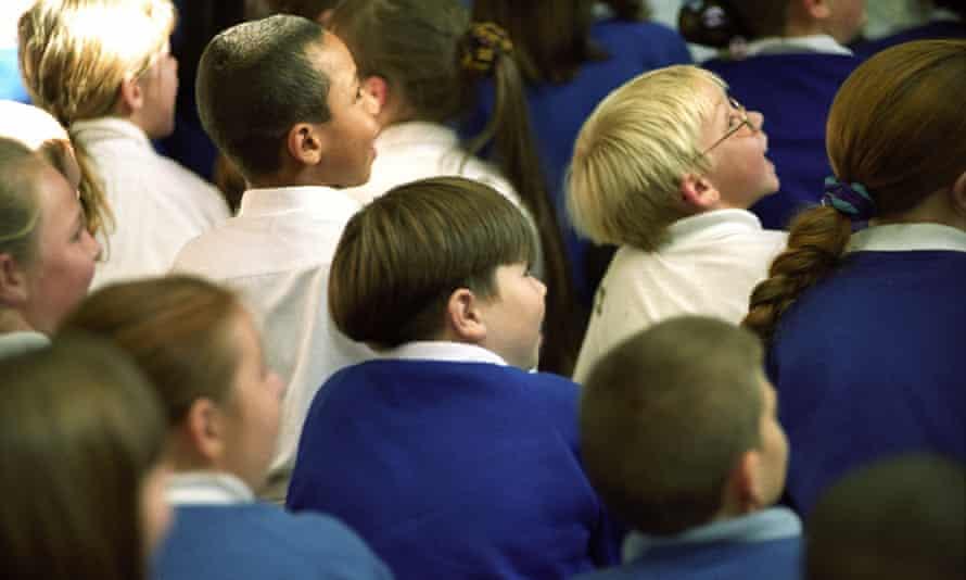 Children at a school in Wolverhampton