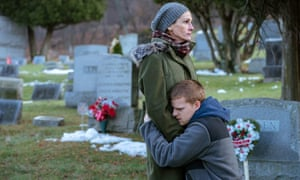 Julia Roberts and Lucas Hedges in Ben Is Back.