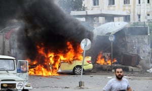 Explosions in the Syrian city of Tartous.