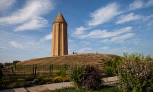 Gonbad-e Kavus tower in Golestan, Iran.