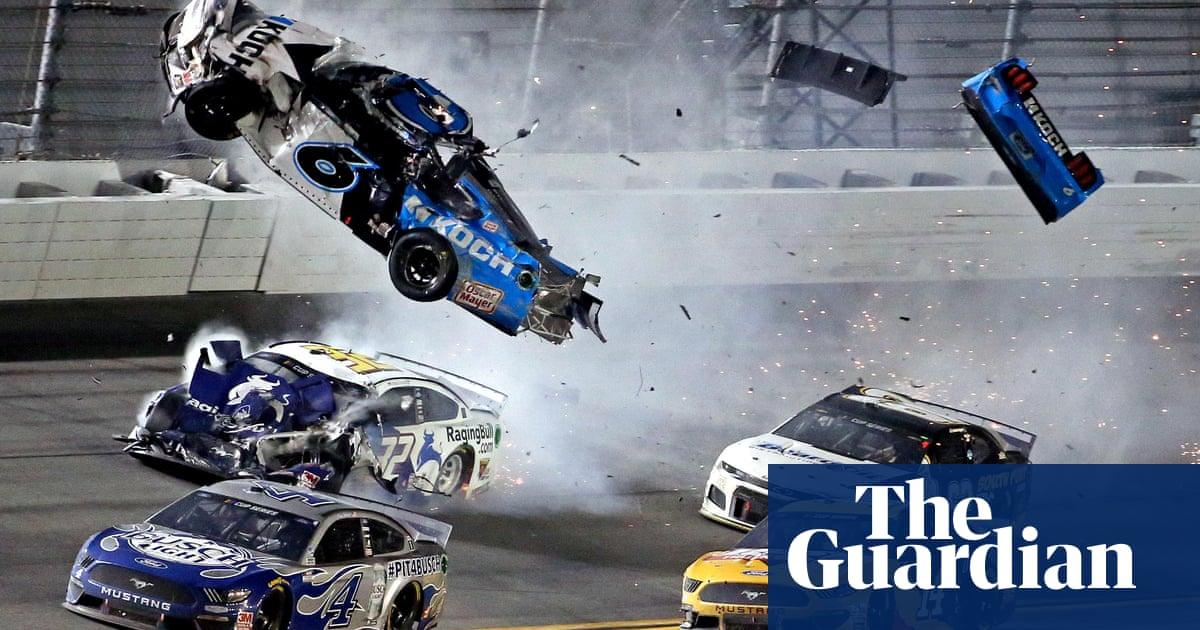 Hamlin wins Daytona 500 as Newman hospitalized in horrific final-turn wreck