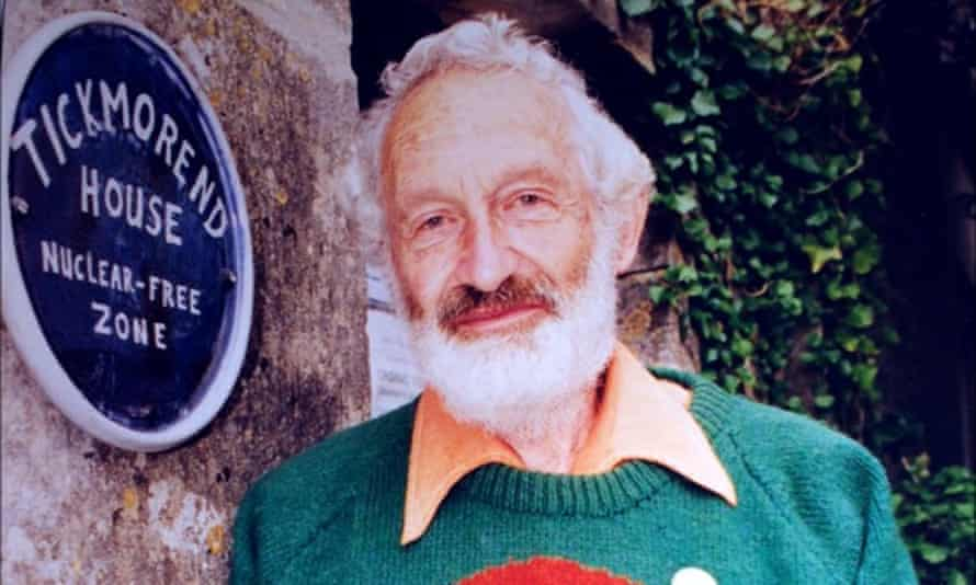 Roger Franklin at his home in Tickmorend, Gloucestershire, which he declared a nuclear-free zone