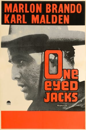 Poster for the Paramount Pictures movie One-Eyed Jacks, 1961.