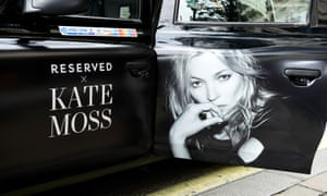 Kate Moss, the new face of Reserved
