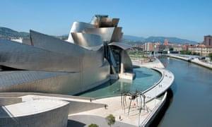 Guggenheim Museum, Bilbao, Basque Country, Spain. Image shot 06/2008. Exact date unknown.AK2325 Guggenheim Museum, Bilbao, Basque Country, Spain. Image shot 06/2008. Exact date unknown.