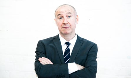 Damian Cowell, formerly known as Humphrey B Flaubert of legendary Australian satirical band TISM (This Is Serious, Mum).