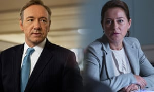 Frank Underwood from House of Cards and Birgitte Nyborg from Borgen.