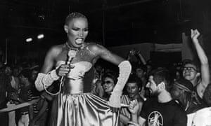 Grace Jones on the 1980s club scene