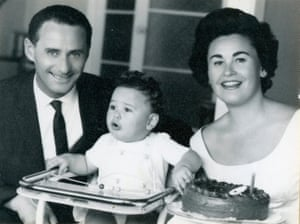 Ludwig 'Lale' Eisenberg with his beloved wife, Gita, and their son, Gary.
