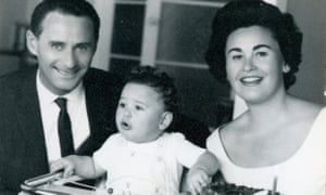 "Ludwig ""Lale"" Eisenberg (who changed his last name to Solokov) and Gita, born Gisela Fuhrmannova, with their son."