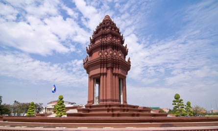 The Independence Monument in central Phnom Penh designed by Vann Molyvann.