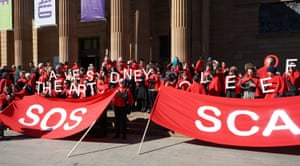 Sydney College of the Arts campaign.