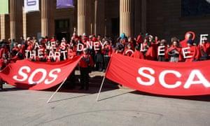 SCA protest