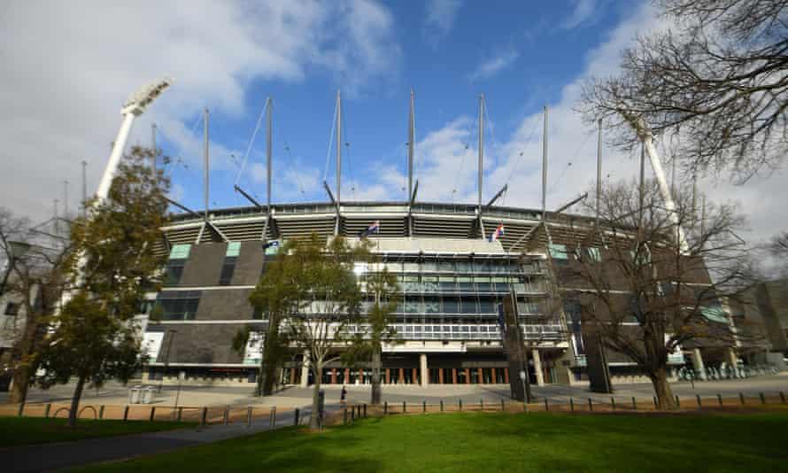 General view of the MCG in Melbourne, Australia