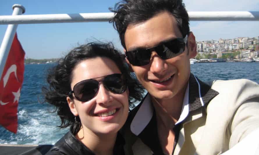 'We were connected beyond language': Sarah and Akmal.