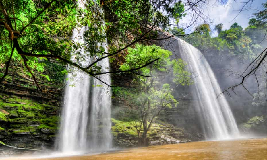 After the deluge: Boti Falls is a 30m-high waterfall within the Boti Forest Reserve about 30 minutes east of Koforidua.