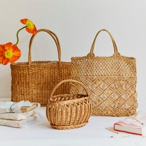 StrawThere's no better place than Straw to find one-off vintage woven baskets like your mother had in the '70s. They add instant Provençal style to the queue outside the supermarket or a garden picnic. From £45, strawlondon.com