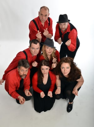 The Showstoppers team in 2013.