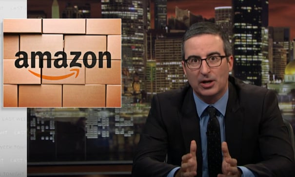 John Oliver on Amazon: 'A system that squeezes people lowest on the ladder'   John Oliver   The Guardian