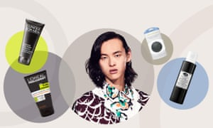 David Yang and the products he tested.