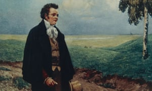 Home-loving … a portrait of Schubert in the Viennese countryside.