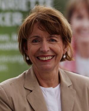 Henriette Reker in Cologne.