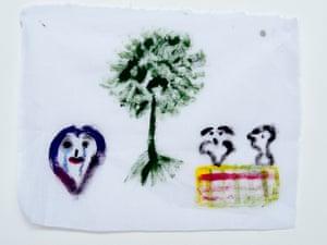 A drawing by a Nauru detainee.
