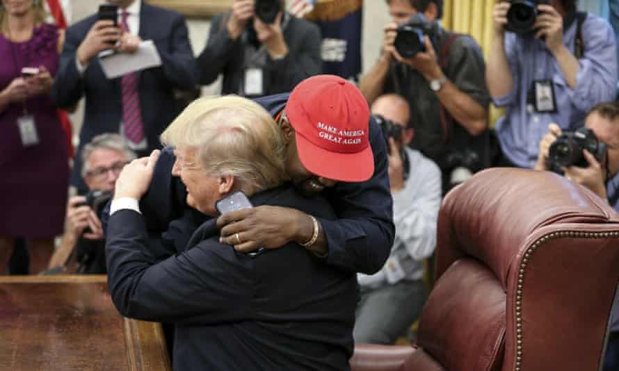 Trump hosts Kanye West at the White House