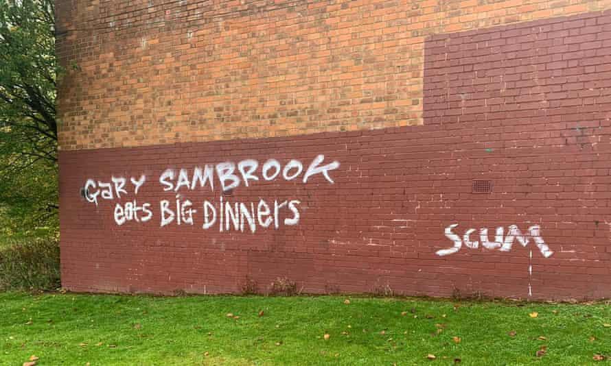 Gary Sambrook graffiti