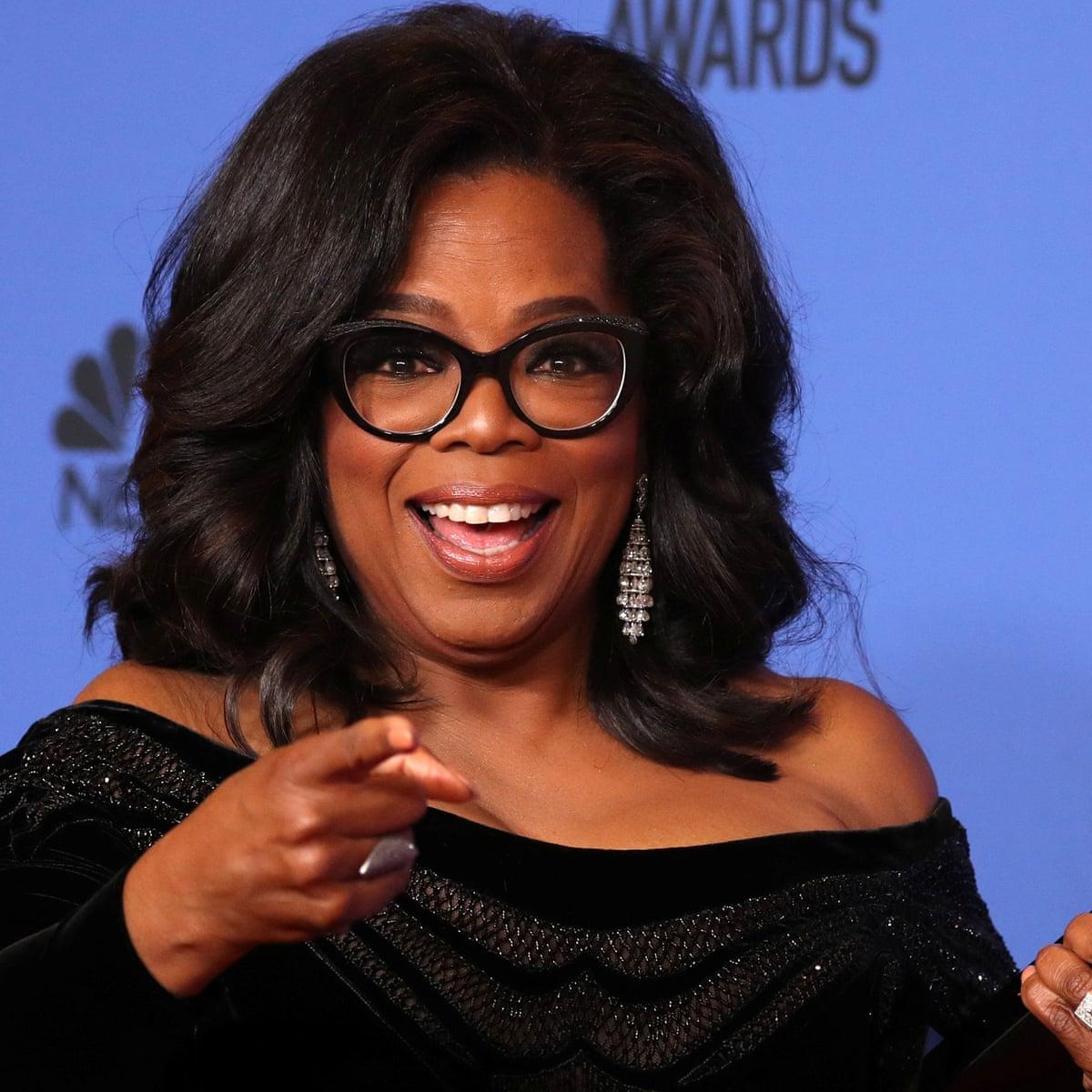 Oprah Winfrey: from poverty to America's first black billionaire … to  #Oprah2020? | Oprah Winfrey | The Guardian