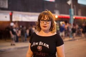 Bethany Taylor attends her second SXSW. Taylor is originally from Massachusetts and moved to Austin two years ago.