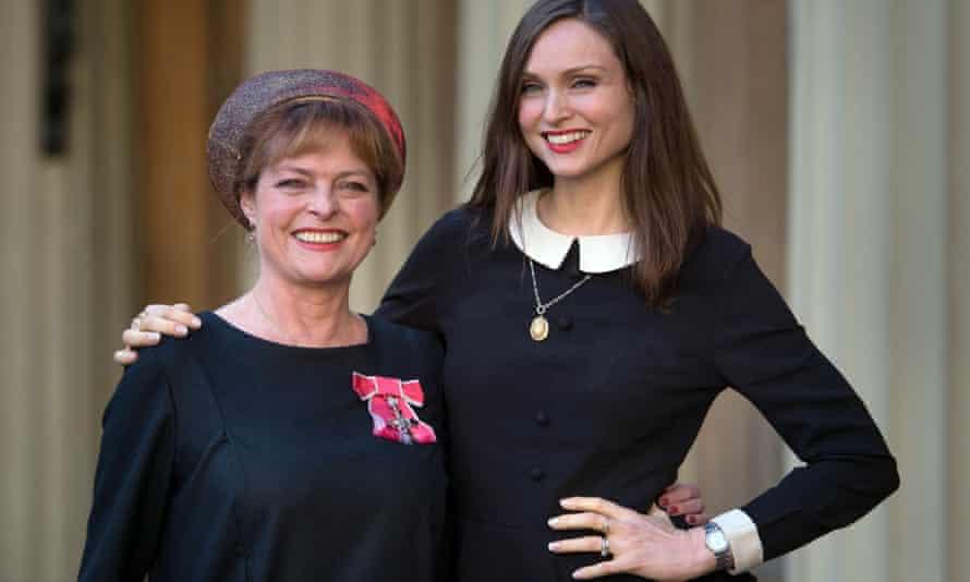 Janet Ellis and daughter Sophie Ellis Bextor