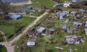 Schools and residence suffered damage and destruction after Cyclone Harold battered Vanuatu.