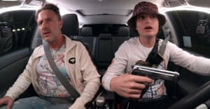 Arquette with Joe Keery in the new film Spree.