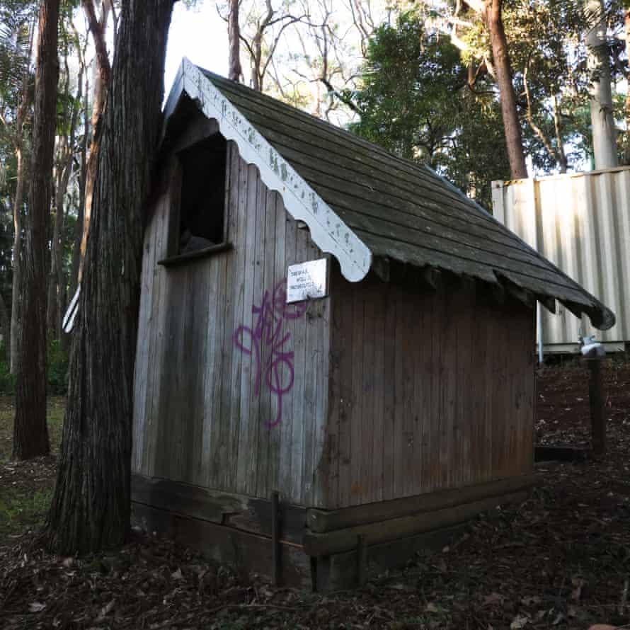 A small building at Fantasy Glades