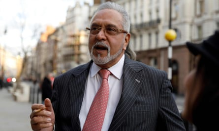 Vijay Mallya outside the Royal Courts of Justice in February.