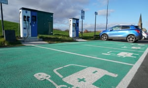 Electric vehicle charging points  in Tynemouth