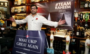 'Raheem Kassam, the British editor of the US far-right website Breitbart, and Farage's former chief strategist, began crowdfunding to finance research on Hope not Hate.'