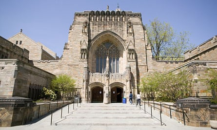 Sterling library at Yale University.