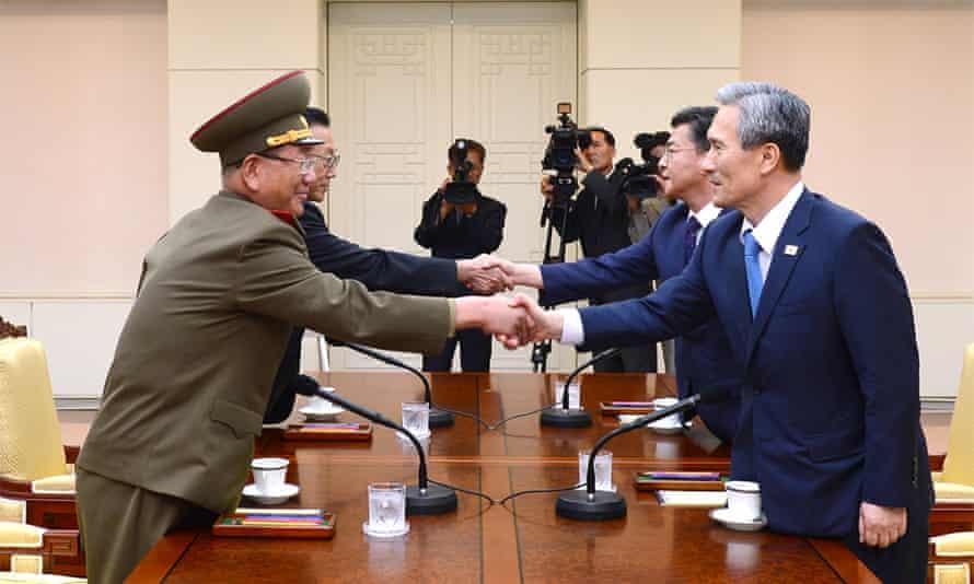 Kim Kwan-jin, Hong Yong-pyo, Hwang Pyong So and Kim Yang Gon.