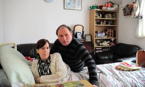 Charlotte Carmichael, with her husband Jayson, is one of those challenging the bedroom tax.