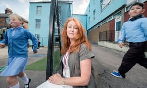 Lorna Middleton, headteacher, St Anthony's free school, Cinderford