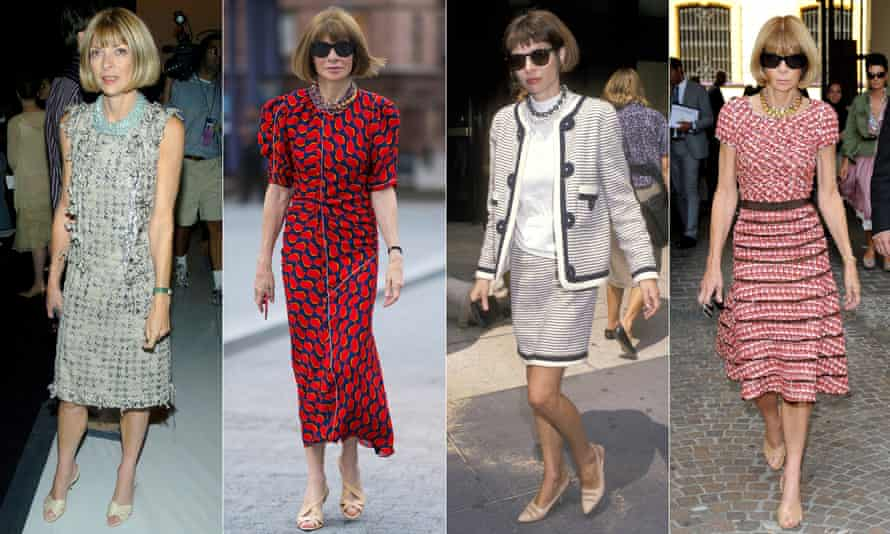 Anna Wintour through the years