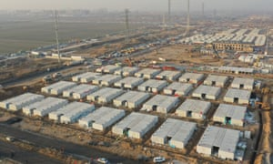 Construction of China's Hebei Shijiazhuang Covid-19 Quarantine Centre is nearing the end. With a total floor area of 34 hectares, the facility will house close contacts or secondary close contacts of COVID-19 confirmed cases.