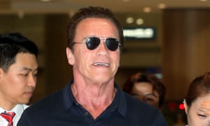 Schwarzenegger said he was looking forward to playing an everyman character in Maggie.