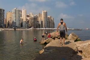 The port city of Alexandria