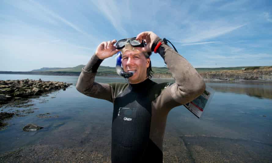 Damian Carrington on the Snorkel Safari in Kimmeridge, Dorset – a marine conservation zone.