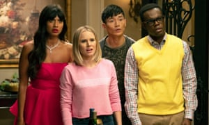 Heavenly sitcom ... The Good Place.