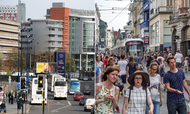 How a Belgian port city inspired Birmingham's car-free ambitions | Environment | The Guardian